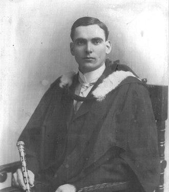 "R. G. Ferguson - Dr. R.G. Ferguson, 1916, ""Senior Stick"", University of Manitoba"