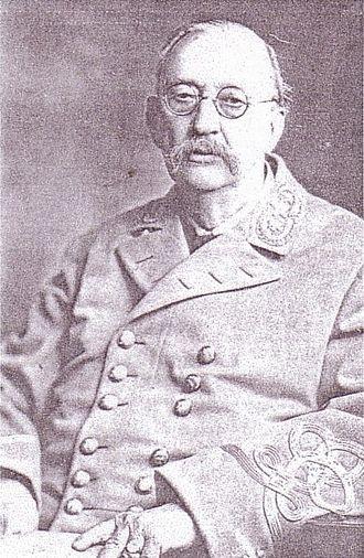 George H. Tichenor - George H. Tichenor, as U.C.V. Louisiana Division Commander, 1916–1918
