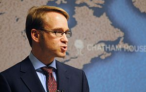 Jens Weidmann - Image: Dr Jens Weidmann, President of the Deutsche Bundesbank (7024162425)