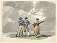 Drawing, A Woman and Two Men with Guns. Costumes of the Kingdom of Naples, 1807–08 (CH 18329683).jpg