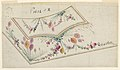 Drawing, Design for Embroidered Waistcoat, pattern 1614 of the Fabrique de St. Ruf, ca. 1785 (CH 18212677).jpg