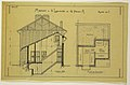 Drawing, Rendering of the Side-Elevation and Basement of a Two Family Mass-operation House (Type No.1), ca. 1921 (CH 18385005-2).jpg