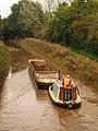 Dredging tug and barge at Taunton.JPG