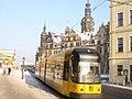 Dresden - Tram an der Sophienstrasse - geo.hlipp.de - 32282.jpg