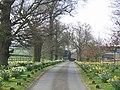 Driveway from Black Ladies Priory - geograph.org.uk - 394229.jpg