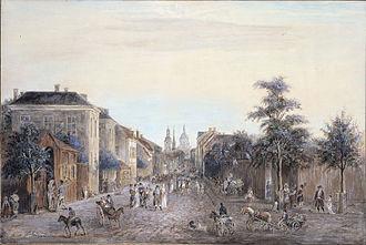 1808 in Sweden - Drottninggatan 1808