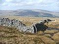 Drystone wall corner. - geograph.org.uk - 156634.jpg