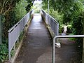 Dual footbridges at Canal Fields, Berkhamsted - geograph.org.uk - 1451322.jpg