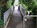 Dual footbridges at Canal Fields, Berkhamsted - geograph.org.uk - 1451322.jpg