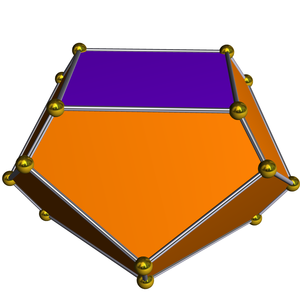 Truncated square trapezohedron - Image: Dual gyroelongated square dipyramid