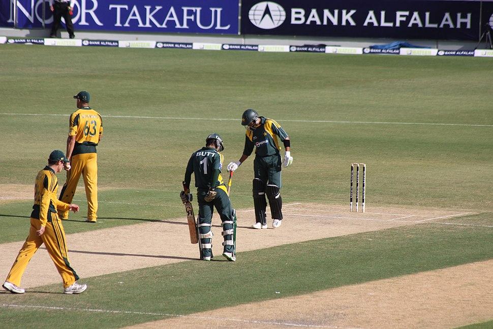 Dubai Sports City Pak vs Aussies