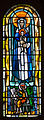 Dublin Christ Church Cathedral Chapel of Laurence O'Toole Window Virgin and Child with Saint Luke by Patrick Pollen 2012 09 26.jpg