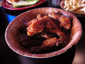 Duff's Famous Wings - Image: Duffs chicken wings