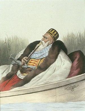 Ali Pasha of Ioannina - Image: Dupré Ali Pasha