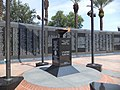 Duval County Veterans Memorial Wall Eternal Flame.JPG