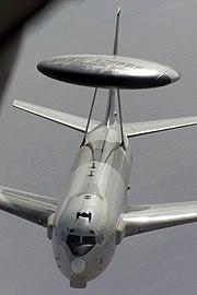 E-3 in flight