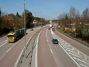 European route E18 - Image: E18 junction 133