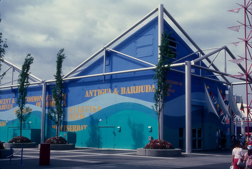 EASTERN CARIBBEAN NATIONS PAVILION AT EXPO 86, VANCOUVER, B.C.