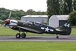 EGSX - Curtiss P-40 Kittyhawk - 43-5802 Lulu Belle (43718278542).jpg