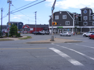 Eastern Passage, Nova Scotia - The town centre of Eastern Passage, July 1, 2016.