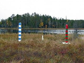 Finland–Russia border Separates territories of Finland and Russia