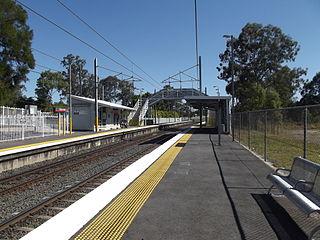 Ebbw Vale railway station, Ipswich railway station in Brisbane, Queensland, Australia
