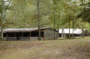 National Register of Historic Places listings in Howard County, Arkansas - Image: Ebenezer Campground