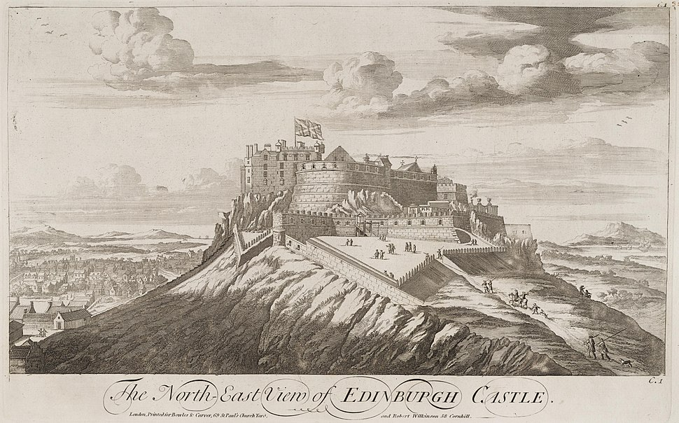 Edinburgh Castle John Slezer