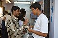 Editing Wikipedia Awareness Programme - Wikimedia Stall - Croud - 38th International Kolkata Book Fair - Milan Mela Complex - Kolkata 2014-02-04 8350.JPG