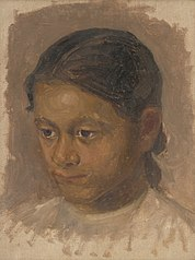 Head Study of a Girl