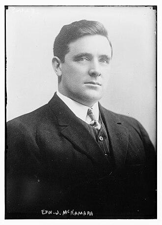 Edward McNamara - McNamara circa 1913