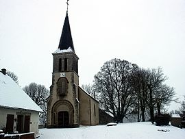 The church in Veilly