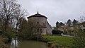 Eglise d'Ornézan - Côté est et bras du Gers.jpg