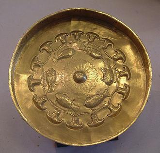 Djehuty (general) - Golden bowl of Djehuty (Louvre)