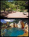El Cielito Springs, Santa Barbara, Before and After by Michael E. Arth.jpg