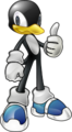 El Sato Tux The penguin in sonic style.png