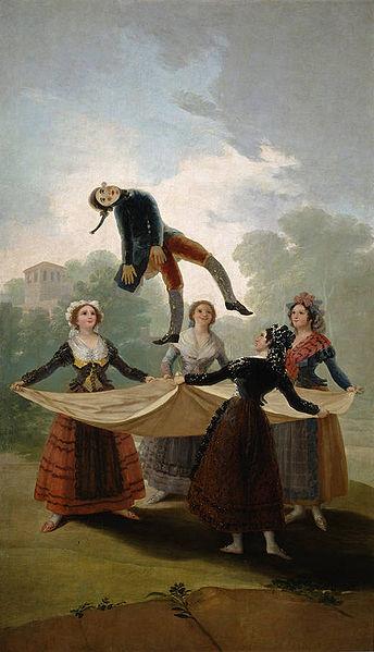 El pelele, de Goya
