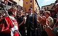 El president Puigdemont amb l'alcaldessa de Berga, Montse Venturós.jpg