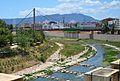El riu Serpis des del museu arqueològic de Gandia.JPG