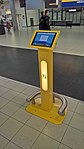 Electronic information stand, Schiphol (2018).jpg
