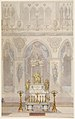 Elevation of Altar with Statue of Louis I, Reims Cathedral MET DP-282-001.jpg