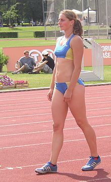 Eliska Klucinova at TNT Fortuna Meeting in Kladno 19June2008.jpg