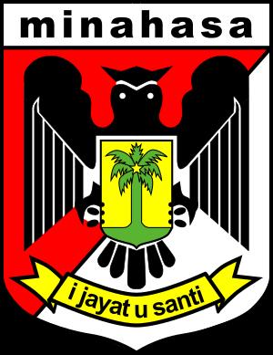Minahasa Regency - Image: Emblem of Minahasa Regency