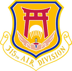 Emblem of the USAF 315th Air Division (1950s).jpg