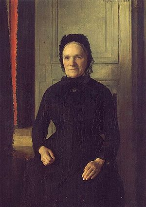 Émile Friant - Madame Coquelin's portrait