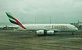 Emirates A380, Auckland, 27th. Dec. 2010 - Flickr - PhillipC.jpg