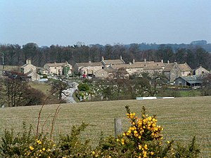 Emmerdale - Village set, built by Yorkshire Television in 1997 on the Harewood estate near Eccup, Leeds, West Yorkshire