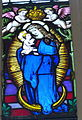 Engelhartszell Pfarrkirche - Fenster 3 Marienkrönung.jpg