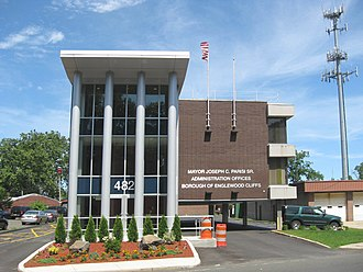 Englewood Cliffs, New Jersey - Borough administration office building