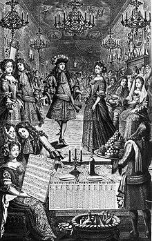 Bal donné par le roi à la cour en 1682.